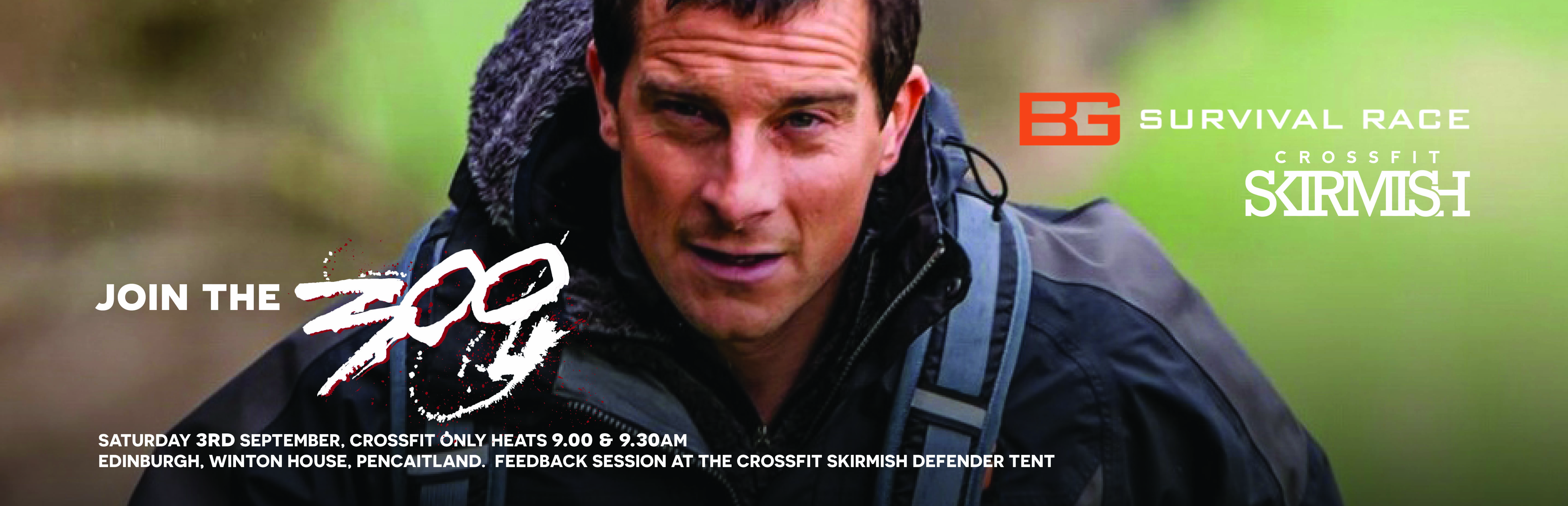The CrossFit 300 test out Bear Grylls' new Survival Race, Sat 3rd September 2016